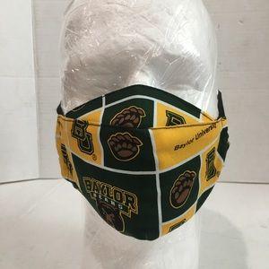 Baylor university bears cotton face mask.
